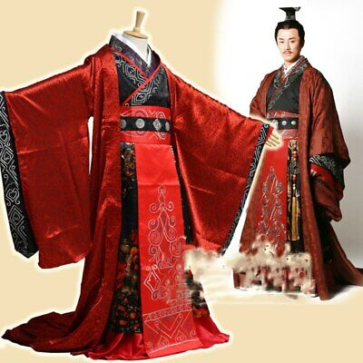 2020 Han Male Emperor Costume Emperor's Clothes Traditional Chinese Hanfu • 78.19£
