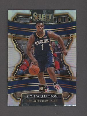 $22.50 • Buy 2019-20 Panini Select Concourse #1 Zion Williamson RC Rookie Pelicans
