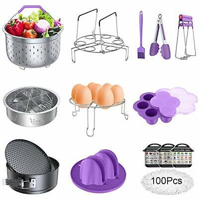 $63.06 • Buy Accessories For Instant Pot, Pressure Cooker 17 Pieces Kit Compatible With
