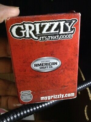 $ CDN13.35 • Buy Grizzly Snuff Chew Playing Cards American Sealed Cards Free Poker Chip