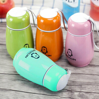 £4.61 • Buy 300ML Mini Color Stainless Steel Vacuum Flask Thermos Travel Mug Coffee Car Cup