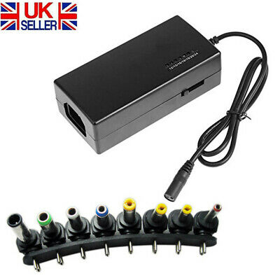 8 Sizes Universal Power Supply Adapter Charger Tips DC Multi Laptop Notebook • 11.99£