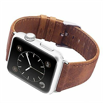 AU15.99 • Buy For Apple Watch IWatch Series 6 5 4 321 Watch Strap Band Leather Wristband Retro