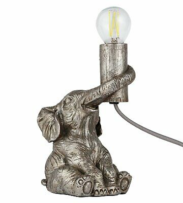 £18 • Buy Argos Home Nelly The Elephant 19cm Table Lamp