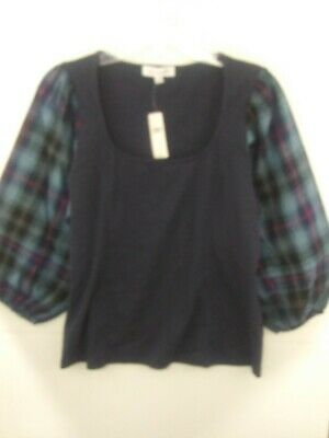 $ CDN31.28 • Buy Anthropologie Trapani Top By Reath & Wren NWT $78 Women's Medium Blue
