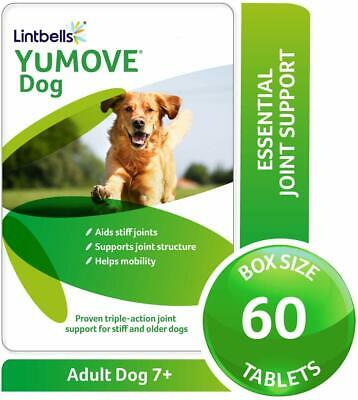 Lintbells YuMOVE Dog Joint Supplement For Stiff And Older Dogs - 60Tablets • 16.23£