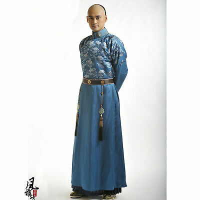 2020 Chinese Traditional Custom Qing Dynasty Prince Costumed Royal Costume • 138.60£