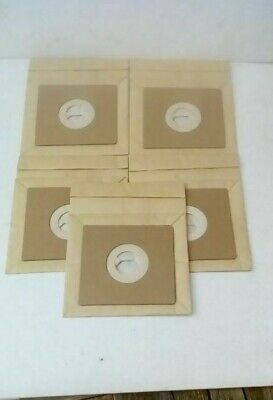 Vacuum Cleaner Bags X 5 To Fit Home-tek Cylinder Model Ht689 • 4.25£