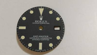 $ CDN4965.96 • Buy Genuine ROLEX GMT Master Ref.16750 Rare Borderless Mat Dial And 4 Hands Set