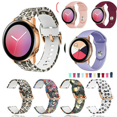 AU11.99 • Buy For Samsung Galaxy Watch Active 2 42 40 44mm Sport Silicone Band Bracelet Strap