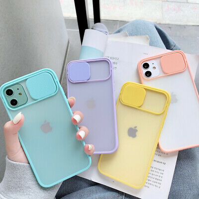 AU9.99 • Buy LENS SCREEN PROTECTOR Case For IPhone11 Pro Max SE XR 7 8 Bumper Silicone Cover