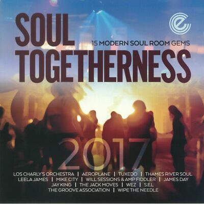 Soul Togetherness 2017  15 Modern Soul Room Gems  2 Lp • 18.99£