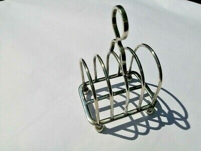 Five Bar Sterling Silver Toast Rack , SILVER, HALLMARKED, 114gms • 39£