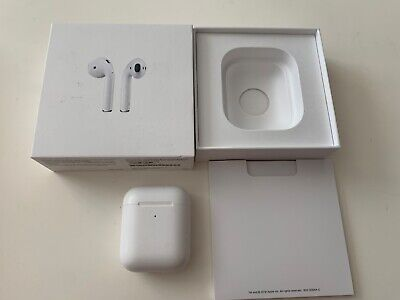 $ CDN70.67 • Buy Apple AirPods 2nd Generation With Wireless Charging Case - White (MRXJ2AM/A)