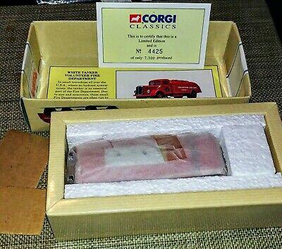 $19.99 • Buy Corgi Classics 98452 White Tanker Volunteer FD  #4425 New Unopened In The Box