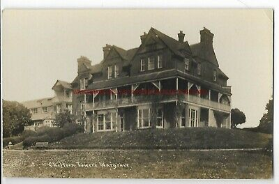 Berkshire Wargrave Chiltern Towers Real Photo Vintage Postcard 10.12 • 3£