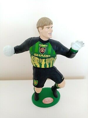 Manchester UNITED Man Utd 1996 Vivid Large 10  Football Figure PETER SCHMEICHEL  • 9.99£
