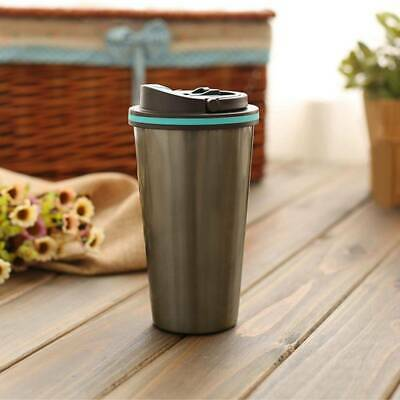 £8.19 • Buy Leakproof Travel Coffee Mug Cup Thermal Stainless Steel Flask Vacuum Insulated