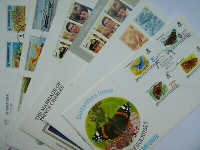 Guernsey Commemorative 1981 FDC's • 1.50£