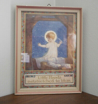 Little Hands Outstretched To Bless Medici Print 1950s Margaret Tarrant Rare • 75£