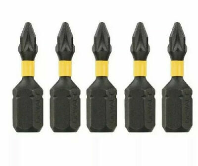 Dewalt Extreme Dt7386t 5 X Pz1 High Impact Torsion Screwdriver Bits X 25mm • 3.75£