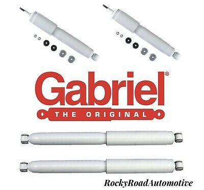 $189.99 • Buy Front & Rear Gabriel Shocks For 99-10 SILVERADO SIERRA 1500HD 2500HD 3500HD
