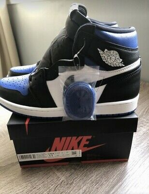 $205 • Buy Air Jordan 1 High Royal Toe  555088-041  Size11 Authentic READ DESCRIPTION!!!