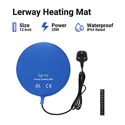 £19.99 • Buy Lerway 25W Fermentation Heating Pad Plant Home Brew Beer Wine Making Tool Heater
