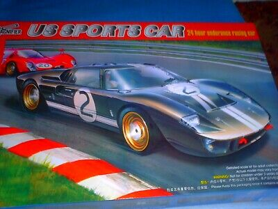 Magnifier 1/12 Scale The American Ford Gt 40 Mk.ii Racing Car Le-mans  Mag00019 • 119.99£
