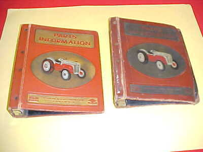 $ CDN93.66 • Buy Original Ford 8n 8 N Tractor Parts Catalog Empty Binder Only Group Lot Of 2 Two