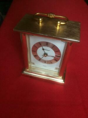 Whitehall Quartz Battery Operated Carriage Clock. Working • 2.97£