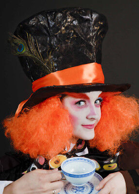 £8.95 • Buy Alice In Wonderland Mad Hatter Style Gothic Fancy Dress Fairytale Cosplay Hat