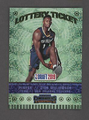 $6.58 • Buy 2019-20 Contenders Lottery Ticket #1 Zion Williamson RC Rookie