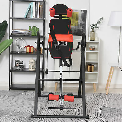 £94.99 • Buy Gravity Inversion Table W/ Safety Belt Back Stretcher Machine Muscle Pain Relief