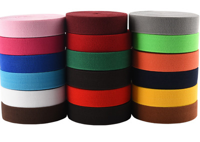 $ CDN15.81 • Buy  2---6cm Twill Color Elastic Band Thicken Bag Shoes Clothing Accessories