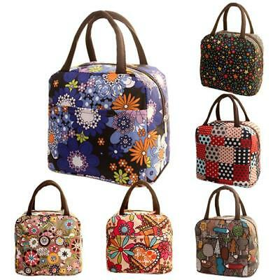 AU13.04 • Buy Durable Thermal Insulated Tote Picnic Lunch Cool Bag Cooler Box Handbag Pouch AU