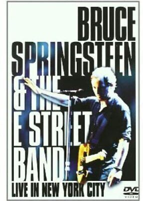 BRUCE SPRINGSTEEN LIVE IN NEW YORK CITY DVD SET (Released May 5th 2003) • 10.95£
