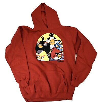 £7.09 • Buy Angry Birds Youth Boys Angry Birds Pullover Hoodie New S, M, L