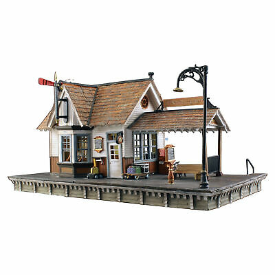 $ CDN115.56 • Buy Woodland Scenics HO Scale Built-Up Building/Structure The Depot/Train Station