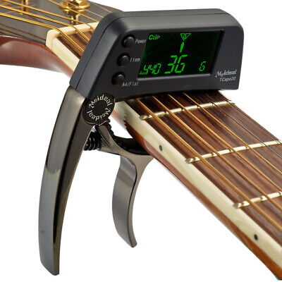 $ CDN39.99 • Buy Acoustic Guitar Tuner Capo Quick Change Key,  Alloy Material, Guitar Accessories