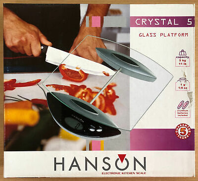 Cooking Scales / Hanson Crystal 5 • 42.15£