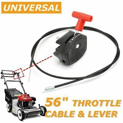 £10.99 • Buy 56'' Throttle Cable Switch Lever Control Handle For Lawnmower Lawn Mower UK..