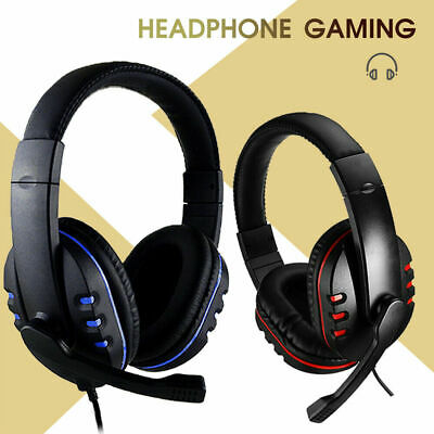 £12.39 • Buy Stereo Video Gaming Headset For Xbox One PS4 Nintendo Switch & PC Mic Headphones