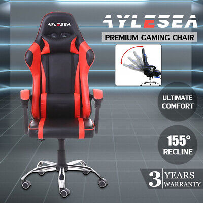 AU124.09 • Buy AYLESEA Gaming Chair Office Computer Leather Chairs Racer Executive Racing Seat