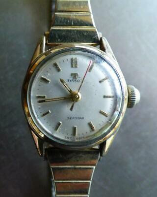 AU20 • Buy Vintage Tissot Seastar Ladies Gold Plated Wrist Watch