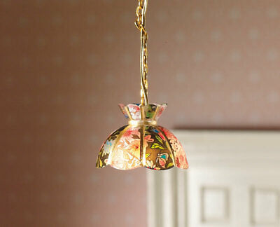 1/12 Scale Dolls House Emporium Hanging 'Tiffany' Ceiling Light 12V 2767 • 11.95£