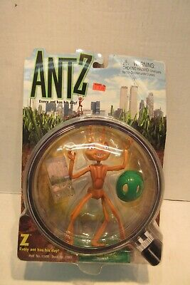 $ CDN19.37 • Buy 1998 Playmates Dreamworks Antz Z Every Ant Has His Day Action Figure Toy