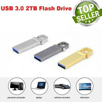 $ CDN31.60 • Buy USB 3.0 Metal Flash Drive Memory Stick Pen U Disk Swivel Key Thumb Desjtop 2TB