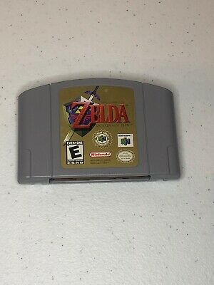 $45 • Buy The Legend Of Zelda: Ocarina Of Time N64 Authentic Tested Cleaned Nintendo 64
