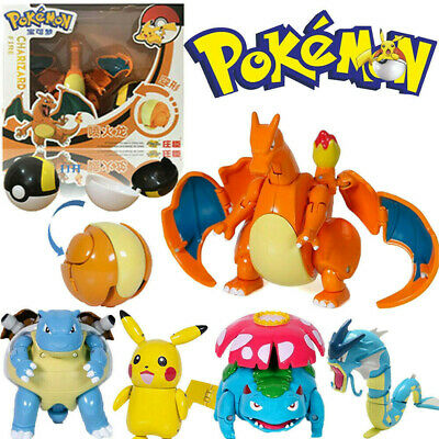 Pokeball Ball Transformation Toy Action Figure Suit Solgaleo Deformation Gift UK • 3.99£